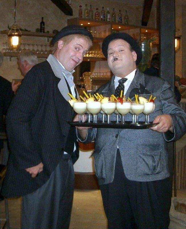Doppelgänger Dick & Doof double
