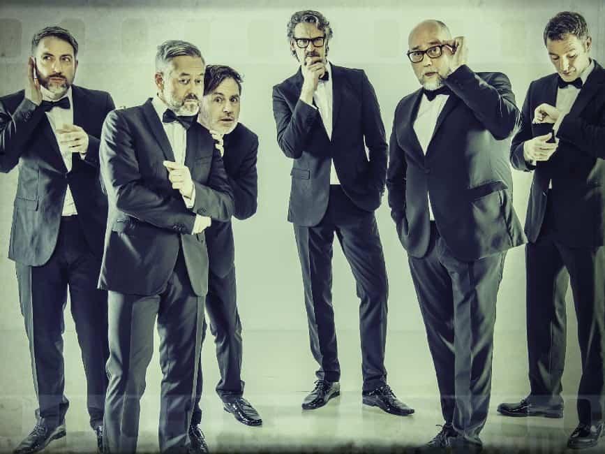 Six Pack A Cappella Comedy vom Allerfeinsten