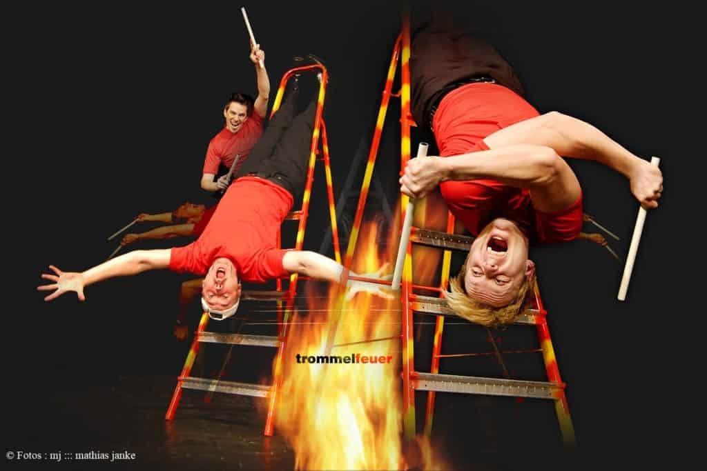 trommelfeuer | leitern in flammen